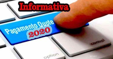 Informativa Quota Iscrizione anno 2020