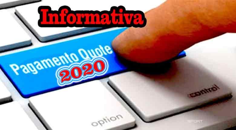 Quota 2020 alla scadenza del 30 Novembre 2020.