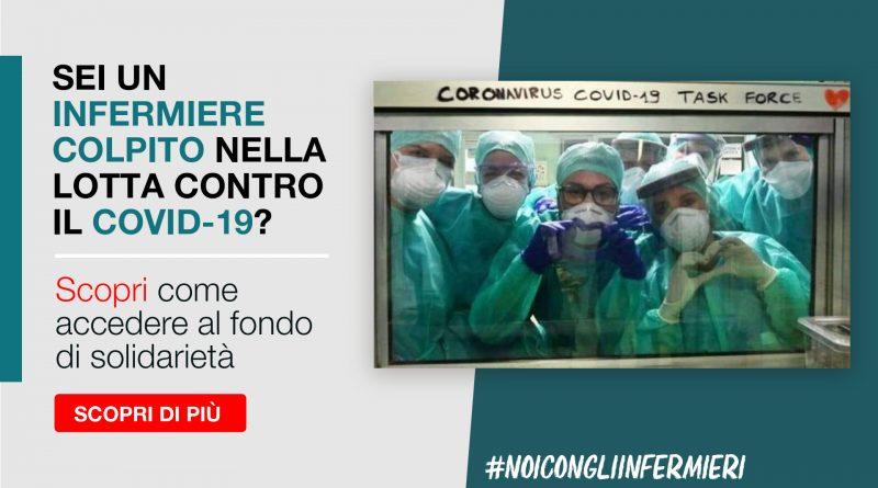 Fondo di Solidarietà #NoiConGliInfermieri